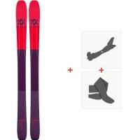 Ski Volkl 90Eight W 2020 + Fixations de Ski Randonnée + Peaux118430