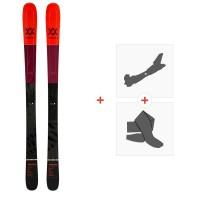 Ski Volkl Kenja 88 2020 + Fixations de Ski Randonnée + Peaux119416