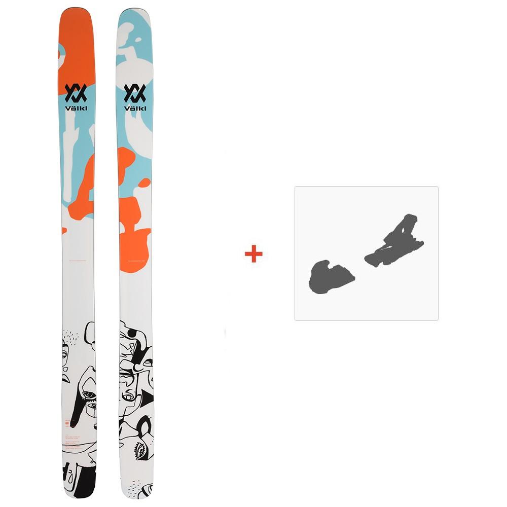 Ski Volkl Revolt 121 2020 + Fixations de ski119436
