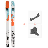 Ski Volkl Revolt 121 2020 + Fixations de ski randonnée + Peaux119436
