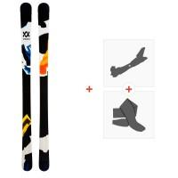 Ski Volkl Revolt 86 2020 + Fixations de ski randonnée + Peaux119442
