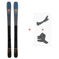 Ski Volkl Secret 92 2020 + Fixations de ski randonnée + Peaux119414
