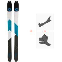 Ski Volkl Vta 108 2020 + Fixations de ski randonnée + Peaux119386