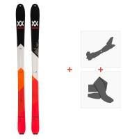 Ski Volkl Vta 84 2020 + Fixations de ski randonnée + Peaux119394