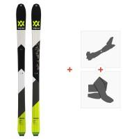 Ski Volkl Vta 88 2020 + Fixations de ski randonnée + Peaux119392