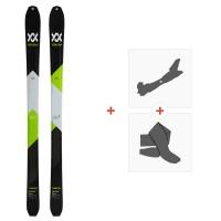 Ski Volkl Vta 88 Lite 2020 + Fixations de ski randonnée + Peaux119390