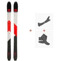 Ski Volkl Vta 98 2020 + Fixations de ski randonnée + Peaux119388