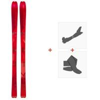 Ski Elan Ibex 78 2020 + Fixations de ski randonnée + PeauxADOEUP19