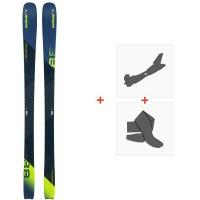 Ski Elan Ripstick 88 2020 + Fixations de ski randonnée + PeauxADGEUU19