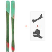 Ski Elan Ripstick 88 W 2020 + Fixations de ski randonnée + PeauxADGEUX19