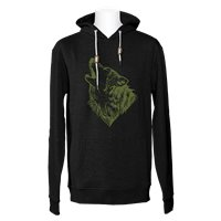 Jones Hoodie Surf Series Black 2020