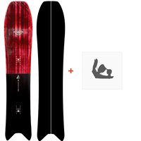 Snowboard Nidecker The Mosquito 2020 + Fixations de SnowboardSN200100