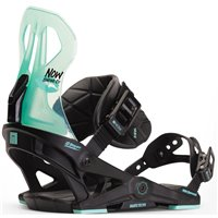 Fixation Snowboard Now Brigada Black/Turquoise 2020
