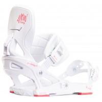 Fixation Snowboard Now Vetta White 2020