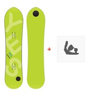 Snowboard Yes Pow Inc 2020 + Fixations de snowboardSY190199