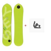 Snowboard Yes Pow Inc 2020 + Snowboard BindungenSY190199