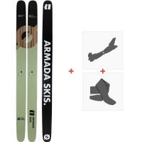 Ski Armada Arg II 2020 + Fixations de ski randonnée + Peaux