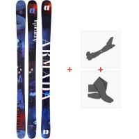 Ski Armada Arv 84 2020 + Fixations de ski randonnée + PeauxRA0000150