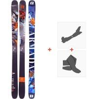 Ski Armada Arv 96 2020 + Fixations de ski randonnée + PeauxRA0000118