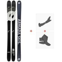 Ski Armada Arv 96 Ti 2020 + Fixations de ski randonnée + PeauxRA0000124