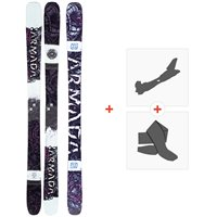 Ski Armada Arw 96 2020 + Fixations de ski randonnée + PeauxRA0000126