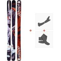 Ski Armada Bdog 2020 + Fixations de ski randonnée + PeauxRA0000144