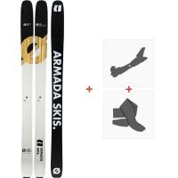 Ski Armada Declivity X 2020 + Fixations de ski randonnée + PeauxRA0000166