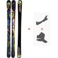 Ski Armada Edollo 2020 + Fixations de ski randonnée + PeauxRA0000112