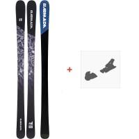 Ski Armada Invictus 85 2020 + Fixations de skiRA0000100