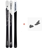 Ski Armada Invictus 89 Ti 2020 + Fixations de ski randonnée + PeauxRA0000096
