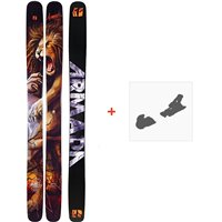 Ski Armada Magic J 2020 + Ski bindingsRA0000094