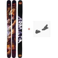 Ski Armada Magic J 2020 + Fixations de skiRA0000094