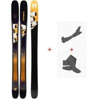 Ski Armada Trace 108 2020 + Fixations de ski randonnée + PeauxRA0000142