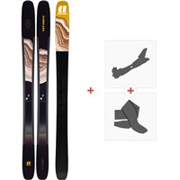 Ski Armada Tracer 118 Chx 2020 + Fixations de ski randonnée + PeauxRA0000136