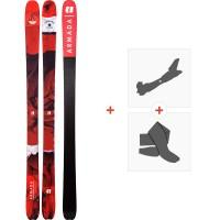 Ski Armada Tracer 88 2020 + Fixations de ski randonnée + PeauxRA0000032
