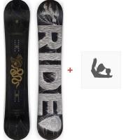 Snowboard Ride Machete JR 2020 + Fixations de snowboard12D0021.1.1