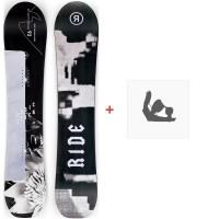 Snowboard Ride Magic Stick 2020 + Fixations de snowboard12D0017.1.1