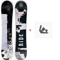 Snowboard Ride Magic Stick 2020 + Snowboard Bindungen12D0017.1.1