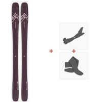 Salomon N Qst Lumen 99 2020 + Fixations de ski randonnée + Peaux