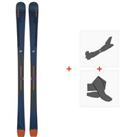 Ski Elan Wingman 82 CTI 2020 + Fixations de ski randonnée + PeauxABBEWD19