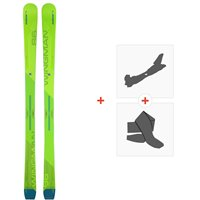 Ski Elan Wingman 86 CTI 2020 + Fixations de ski randonnée + PeauxABAEVX19