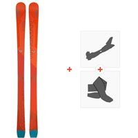 Ski Elan Wingman 86 TI 2020 + Fixations de ski randonnée + PeauxABDFLL19