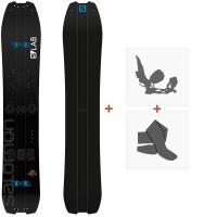 Splitboard Salomon Paremiere 2020 + Fixations de splitboard + PeauxL4053100