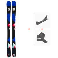 Ski Volkl Bash W Junior 2020 + Fixations de Ski Randonnée + Peaux
