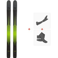 Ski Volkl BMT 109 2020 + Fixations de Ski Randonnée + Peaux