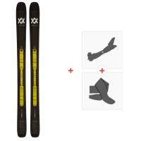 Ski Volkl Confession 2020 + Fixations de Ski Randonnée + Peaux