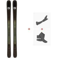 Ski Volkl Mantra 102 2020 + Fixations de ski randonnée + Peaux