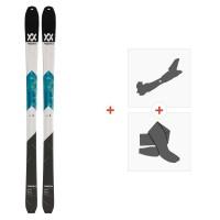 Ski Volkl Vta 80 2020 + Fixations de ski randonnée + Peaux