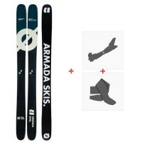 Ski Armada Arv 116 JJ Ul 2020 + Fixations de ski randonnée + PeauxRA0000122