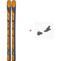 Ski Kastle FX96 HP 2020 + Fixations de skiAF96H19